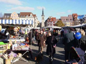 Martinsmarkt in Erfurt