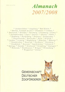 Almanach 2007/2008 (Jahrgang 8) – 6,8 MByte
