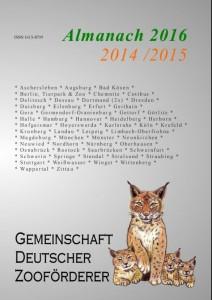 Almanach 2016 Umschlag